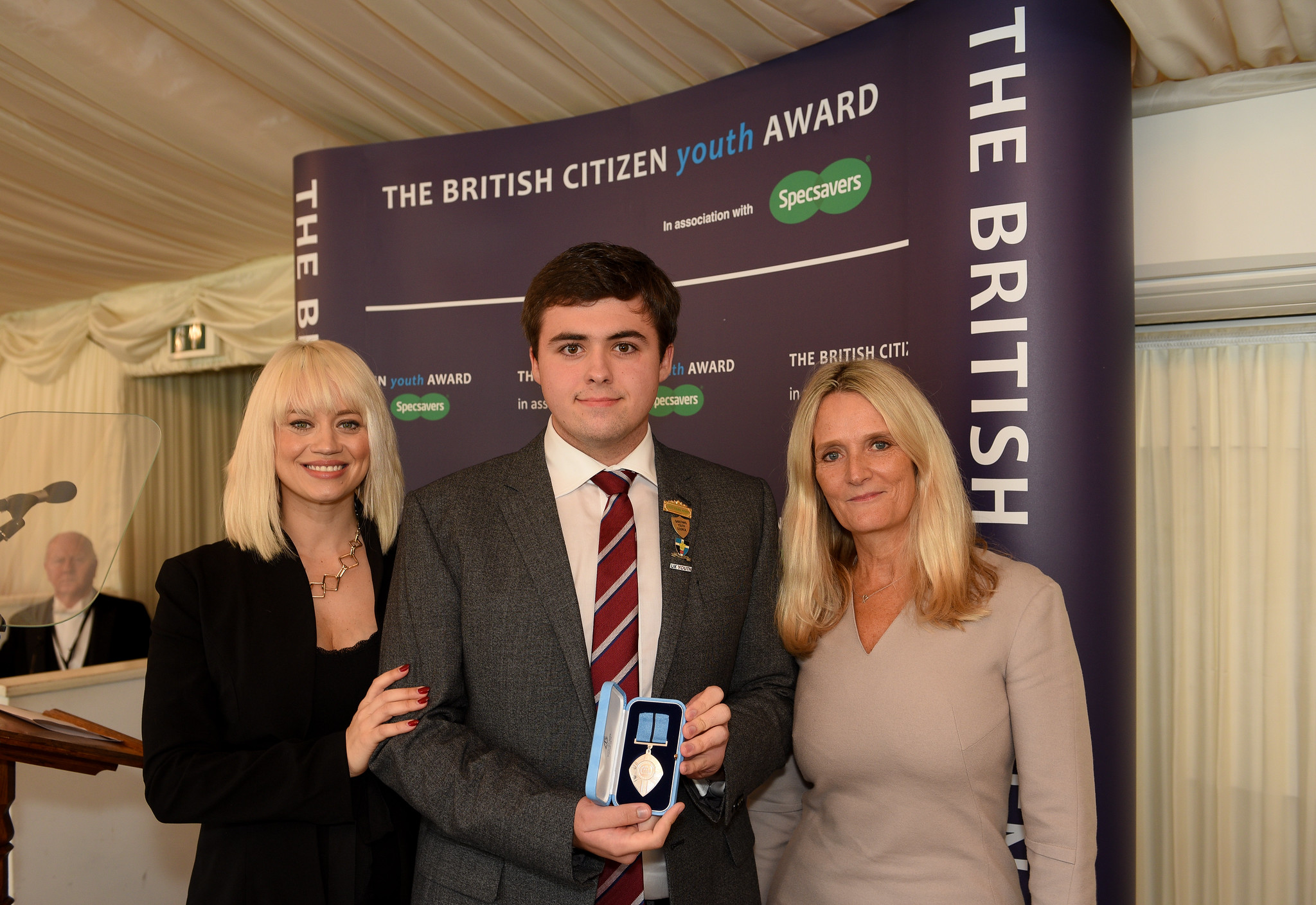 Kimberly Wyatt, Nathan Halford BCyA, Nicky Cox MBE, First News